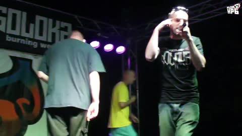 IMP @ Nature All Hip Hop (18.07.15) - 50 STOTINKI