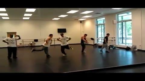 Step Up Rehearsal 3 - Ryan Guzman