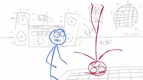 Bath Rhymes Music Video (Ep #20) - Dick Figures