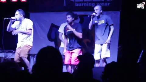 Ума и Дума @ Nature All Hip Hop (17.07.15) pt.1 - 50 STOTINKI