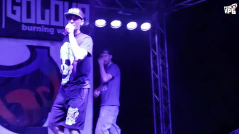 MD Beddah @ Nature All Hip Hop (18.07.15) pt.1 (+Gerata)  - 50 STOTINKI