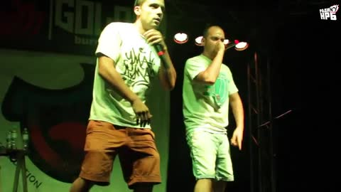 Madmatic @ Nature All Hip Hop (17.07.15) pt.2 - 50 STOTINKI